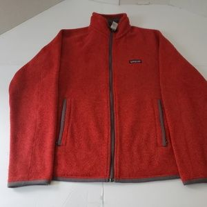 Patagonia Red Mens Better Sweater Size Small